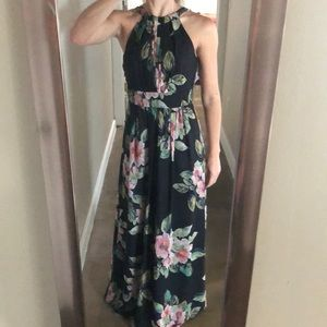 NWT Floral maxi dress (size 2)